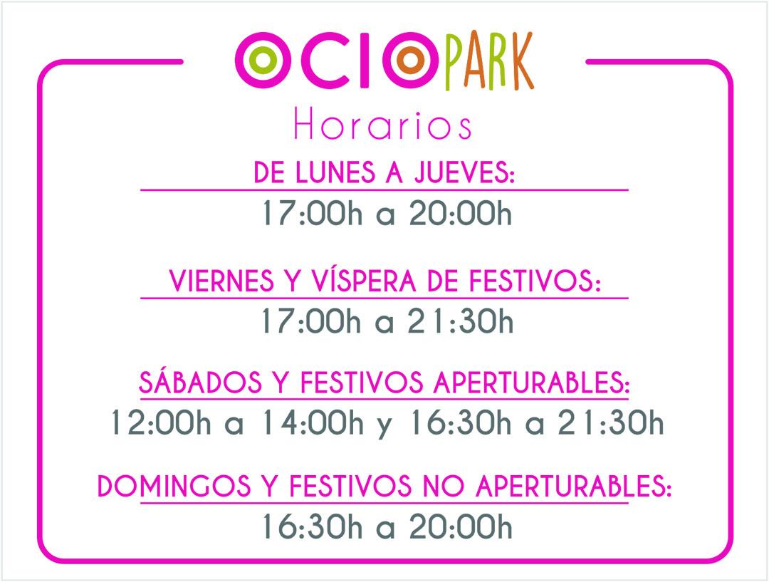 Horario_OCIOPARK_invierno_040919